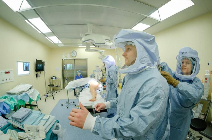 Как достигается максимальная стерильность в операционных залах Орто клиники