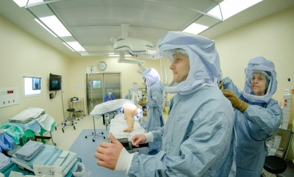 How the maximum sterility is reached in Orto Clinic operation theatres